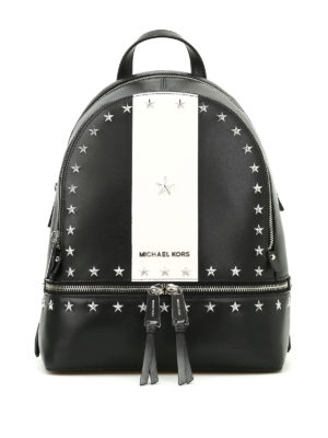 Michael Kors: backpacks - Rhea backpack with star decoration