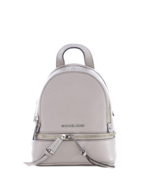 Michael Kors: backpacks - Rhea extra small leather backpack