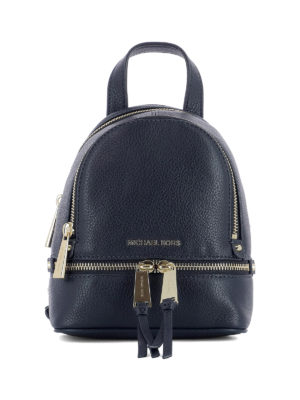 Michael Kors: backpacks - Rhea mini blue backpack
