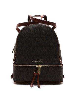 Michael Kors: backpacks - Rhea signature small backpack