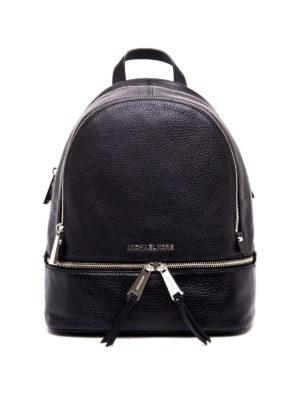 Michael Kors: backpacks - Rhea small leather backpack