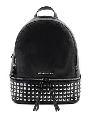Michael Kors: backpacks - Rhea small studded leather backpack