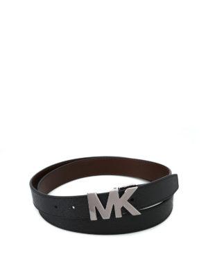 MICHAEL KORS: cinture - Cintura in pelle reversibile