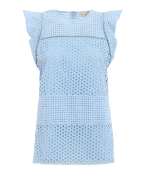 Michael Kors: blouses - Broderie anglaise blouse