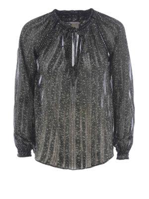 Michael Kors: blouses - Floral georgette blouse