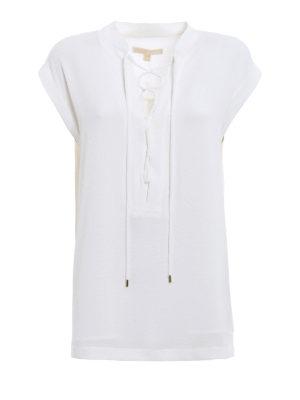 Michael Kors: blouses - Lace detail blouse