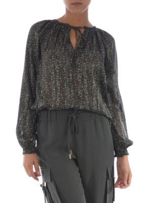 Michael Kors: blouses online - Floral georgette blouse