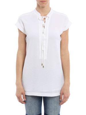 Michael Kors: blouses online - Lace detail blouse