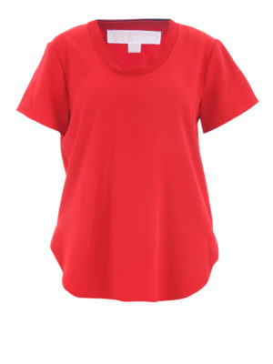Michael Kors: blouses - T-shirt style crepe blouse