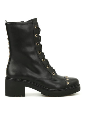 Michael Kors: boots - Cody military combat ankle boots