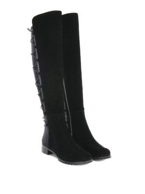 Michael Kors: boots online - BACK LACES DETAIL SUEDE BOOTS
