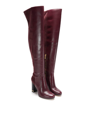 Michael Kors: boots online - Sabrina leather boots
