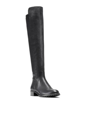 Michael Kors: boots online - Zipped leather boots