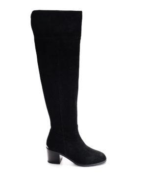 Michael Kors: boots - Paulette suede boots