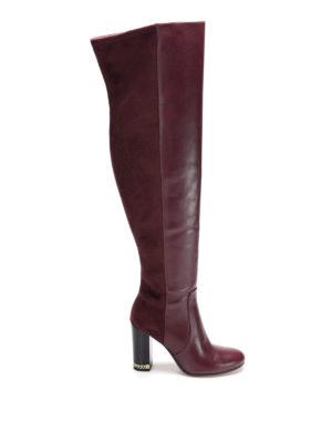 Michael Kors: boots - Sabrina leather boots