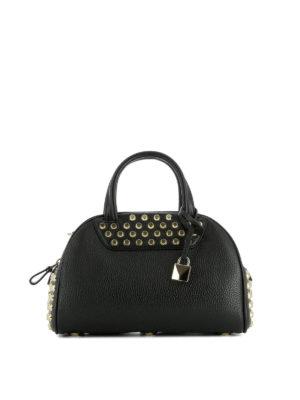 Michael Kors: bowling bags - Austin leather bowling bag