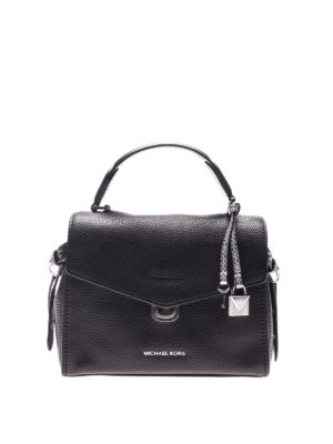 Michael Kors: bowling bags - Bristol hammered leather bag