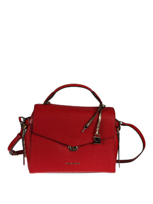 Michael Kors: bowling bags - Bristol leather bag