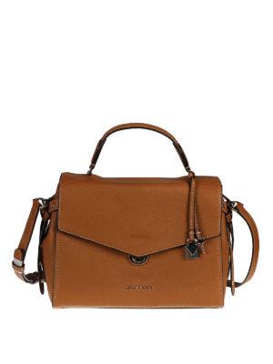 Michael Kors: bowling bags - Bristol leather bowling bag