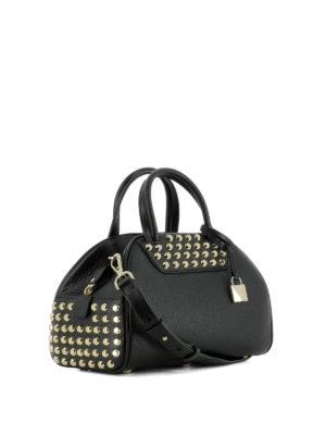Michael Kors: bowling bags online - Austin leather bowling bag