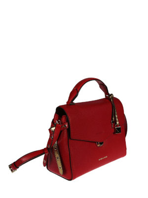 Michael Kors: bowling bags online - Bristol leather bag