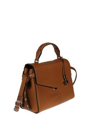 Michael Kors: bowling bags online - Bristol leather bowling bag