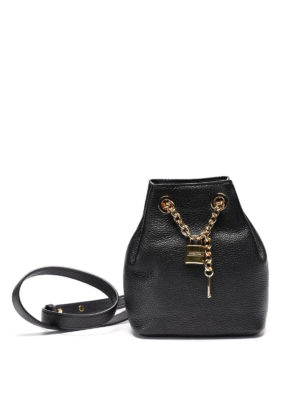 Michael Kors: Bucket bags - Hadley hammered leather bucket bag