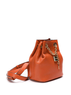 Michael Kors: Bucket bags online - Hadley hammered leather bucket bag