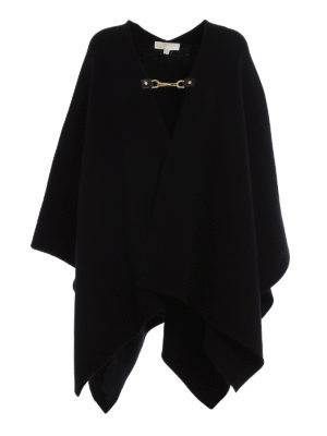 Michael Kors: Capes &  Ponchos - Wool and cashmere cape
