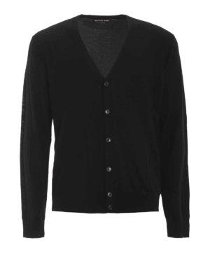 Michael Kors: cardigans - Extra fine merino wool cardigan