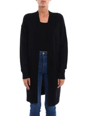 Michael Kors: cardigans online - Cashmere blend long open cardigan