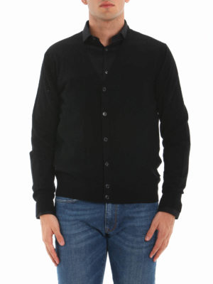 Michael Kors: cardigans online - Extra fine merino wool cardigan