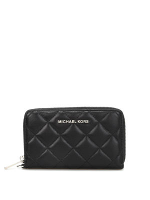 Michael Kors: Cases & Covers - JET SET TRAVEL QUILTED PHONE CASE