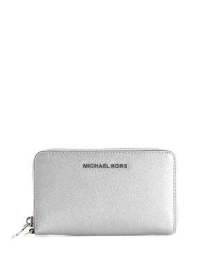 Michael Kors: Cases & Covers - JET SET TRAVEL SMARTPHONE WALLET