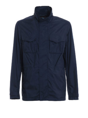 Michael Kors: casual jackets - Travel engineered blue jacket