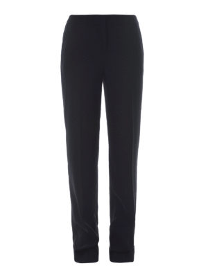 Michael Kors: casual trousers - Cady casual palazzo trousers