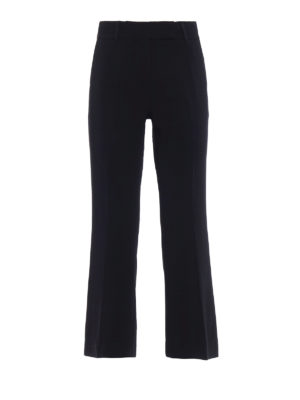 Michael Kors: casual trousers - Cady flared trousers