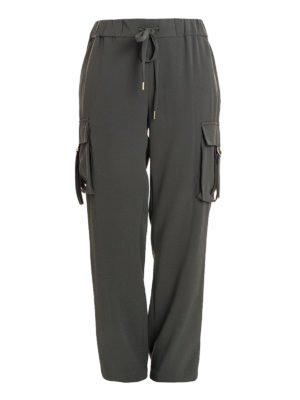 Michael Kors: casual trousers - Cady trousers with maxi pockets