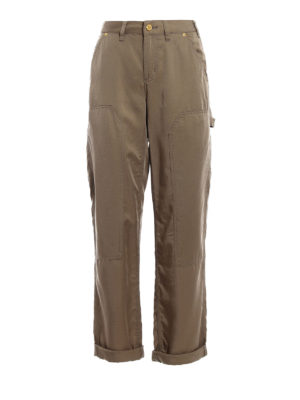 Michael Kors: casual trousers - Cargo sporty trousers