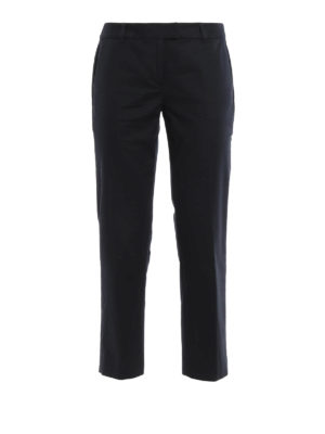 Michael Kors: casual trousers - Cotton crop casual trousers