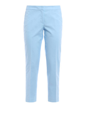 Michael Kors: casual trousers - Crop cotton trousers
