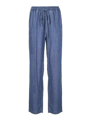 MICHAEL KORS: pantaloni casual - Pantaloni morbidi effetto denim