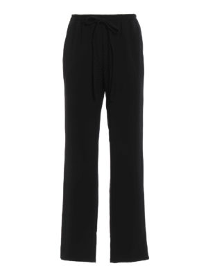 Michael Kors: casual trousers - Flared loose fit trousers