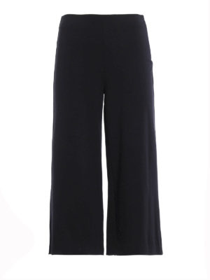 Michael Kors: casual trousers - Jersey flared culottes