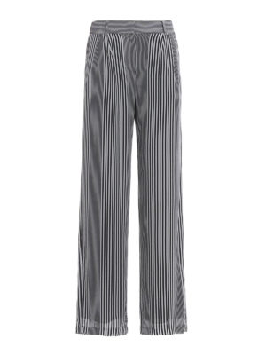 Michael Kors: casual trousers - Lightweight striped trousers