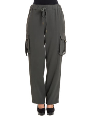 Michael Kors: casual trousers online - Cady trousers with maxi pockets