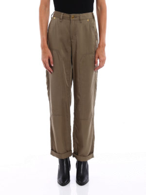 Michael Kors: casual trousers online - Cargo sporty trousers