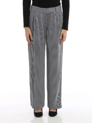Michael Kors: casual trousers online - Lightweight striped trousers
