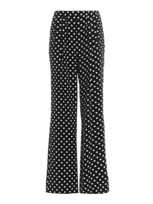 Michael Kors: casual trousers - Polka dot casual trousers