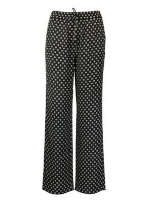 MICHAEL KORS: casual trousers - Polka dots viscose trousers